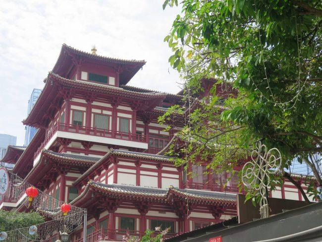Templo de Singapur en el que se custodia un diente de Buda