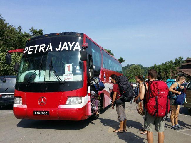 Transportes desde Kuching al Parque Nacional de Bako
