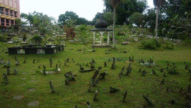 El cementerio más bello de Kuching