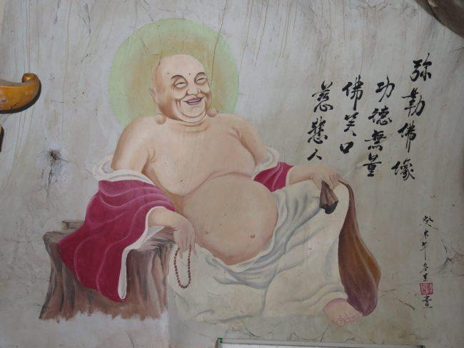 Originales murales en los Templos de Ipoh