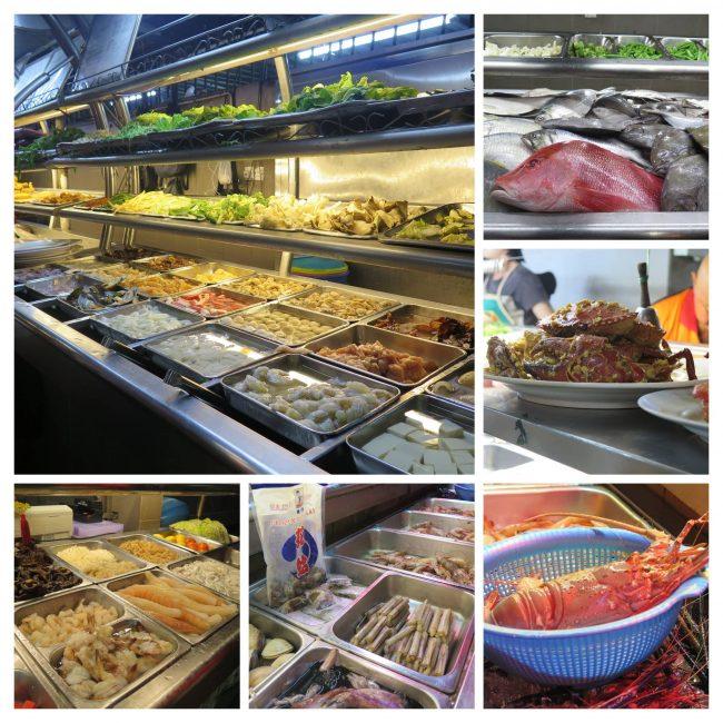 El mejor food court de Kuching