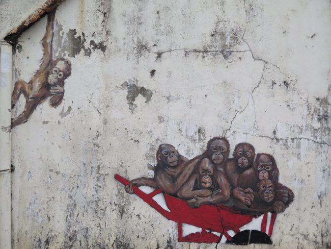 El mejor arte urbano de Kuching