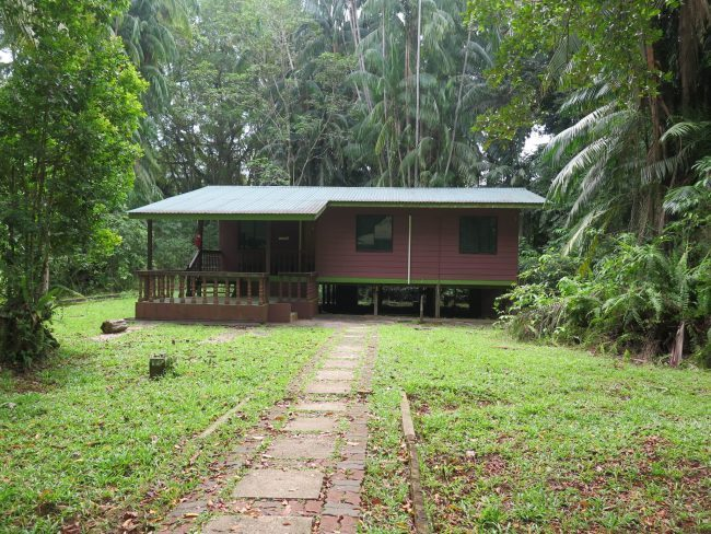Alojamiento en el Parque Nacional de Bako