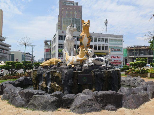 Los gatos de Kuching