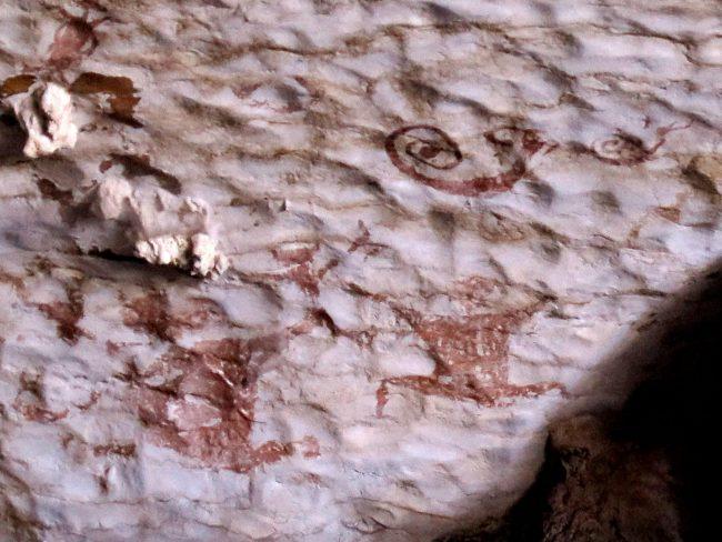 Pinturas Rupestres en las Cuevas de Niah