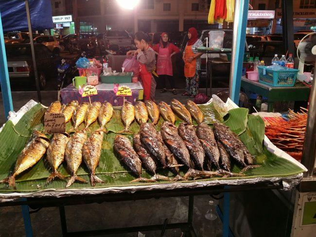Night Market Miri