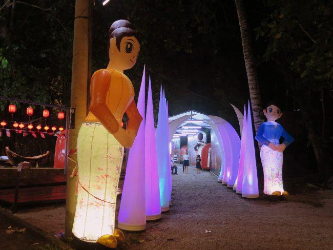 Un fiesta china en Malasia