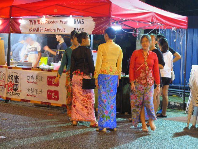 Celebraciones de la comunidad china en Malasia