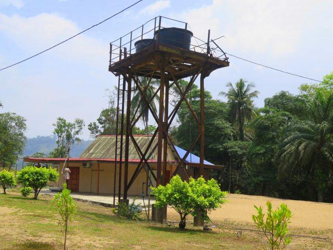 Antiguas estructuras de las minas de estaño de Kuantan