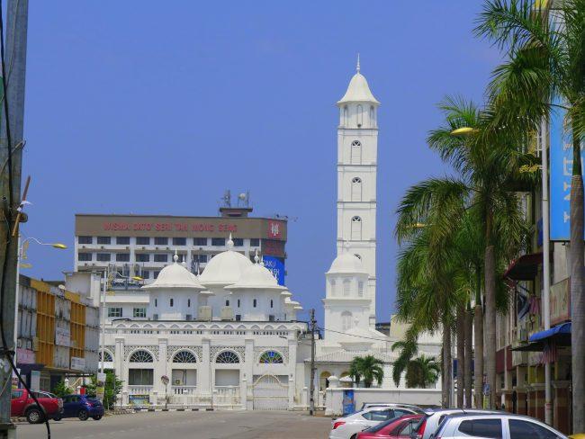 La Mezquita Blanca de Kuala Terengganu