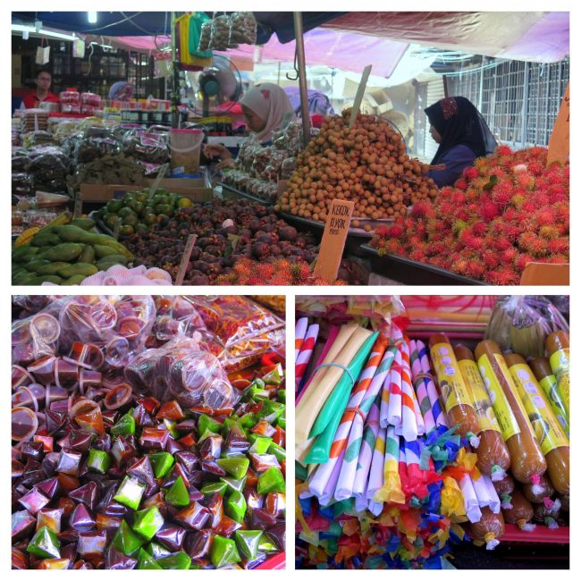 Mercado central en Kuala Terengganu