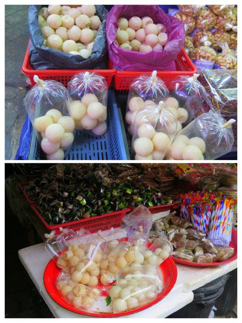 Huevos de tortuga en Kuala Terengganu
