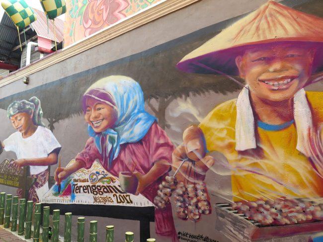 Street art Kuala Terengganu