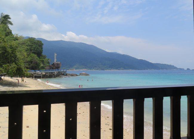 Las largas playas de la Isla de Tioman