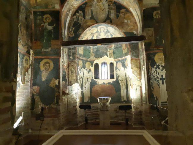 Frescos medievales Bulgaria