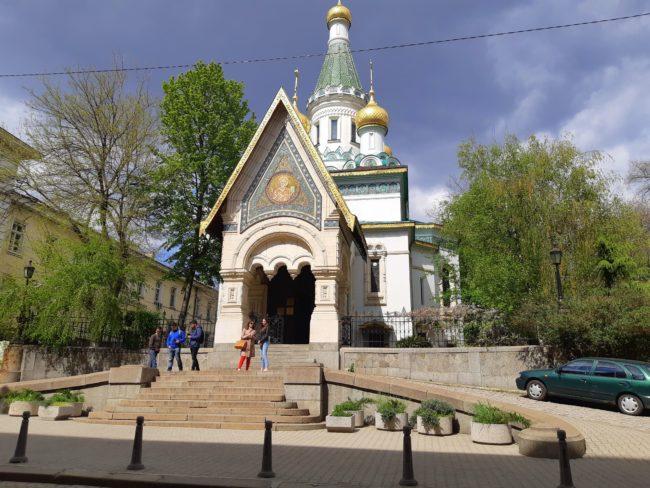 Iglesia Rusa en Sofía