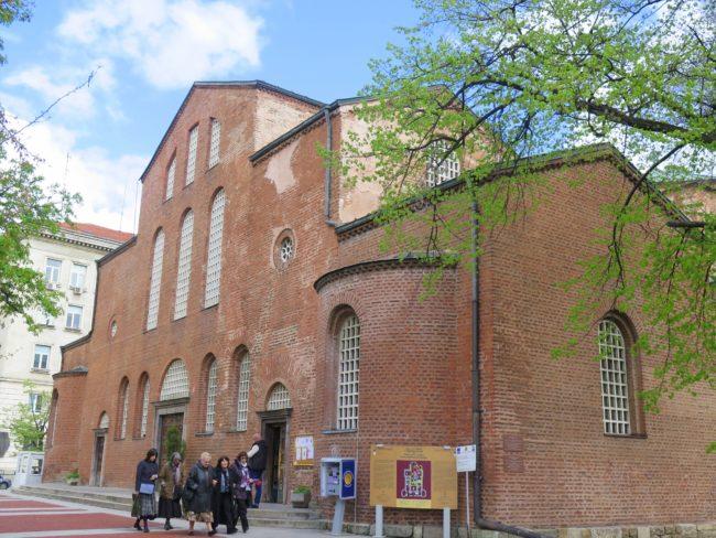 Iglesia más antigua de Sofía