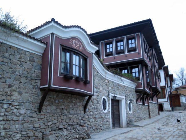 Las mejores casas de la ciudad vieja de Plovdiv