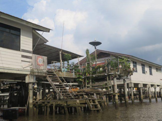 Las casas de madera de Kampung Ayer