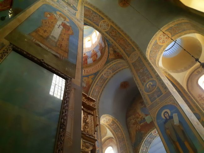 Frescos en Shipka Monastery