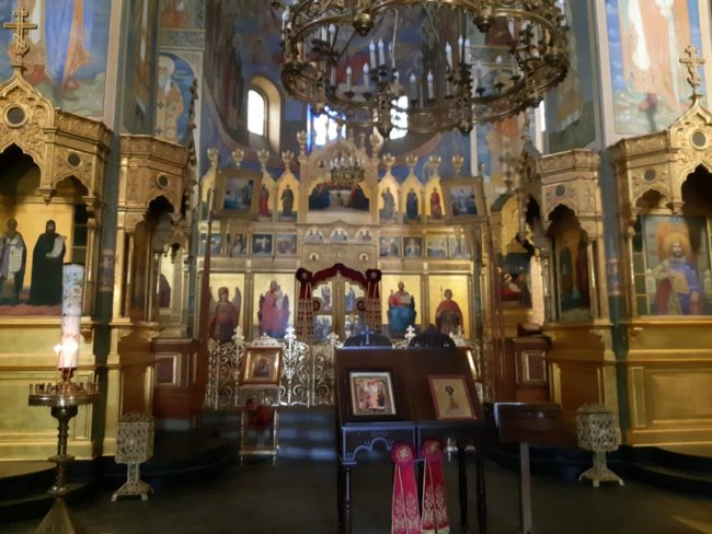 Detalles del Interior de Shipka Memorial Church