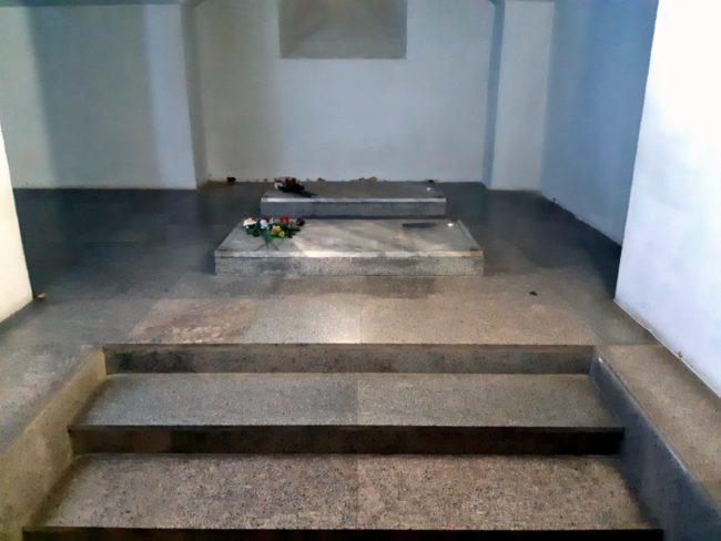 Cripta en la que yacen los muertos de la Batalla de Shipka