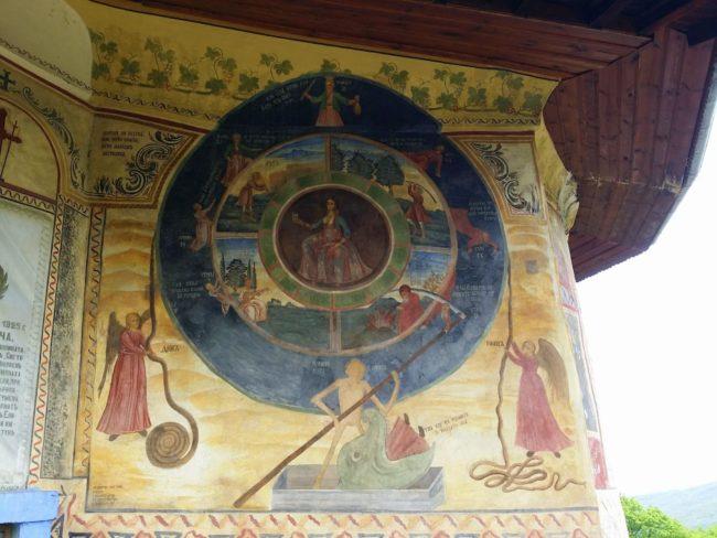 El Mural religioso más característico de Bulgaria