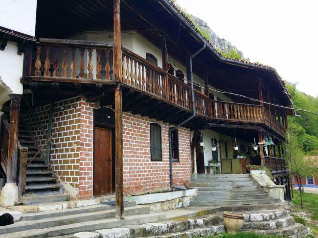 Edificios del Monasterio de la Transfiguración Bulgaria
