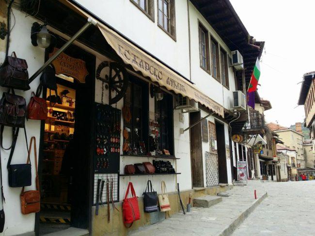 Artículos artesanos en Veliko Tarnovo