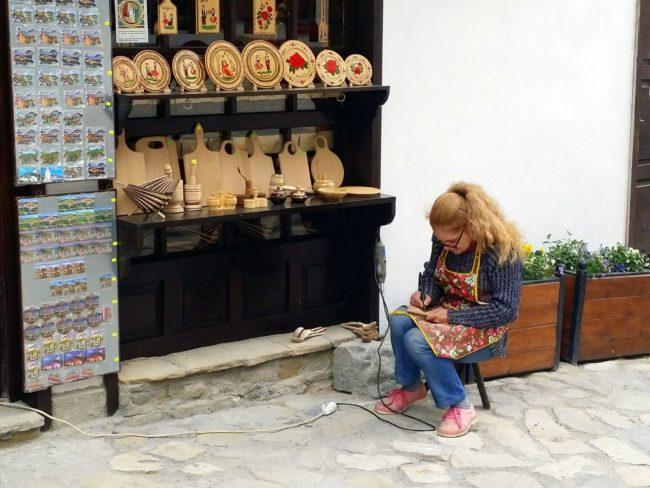 Calle de los artesanos en Plovdiv