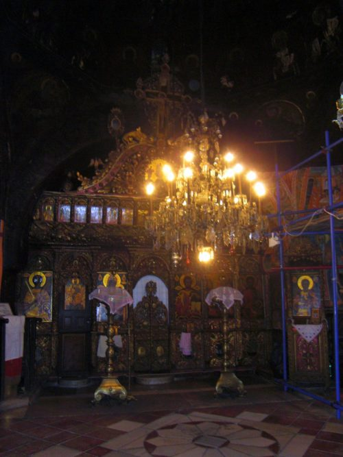 Iconostasio de la Iglesia del Monasterio de Preobrazhenski