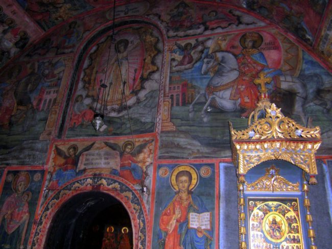 Obra de Zahari Zohograf en los Monasterios de Bulgaria