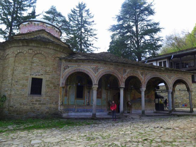 Iglesia principal en el Monasterio de Troyan