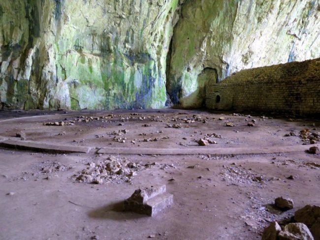 Pasado bélico de la Cueva Devetashka