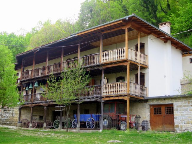 Habitación de los monjes en el Monasterios de Preobrazhenski