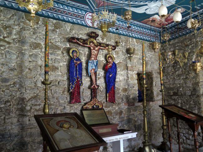 Representaciones religiosas en el Monasterio de Troyan