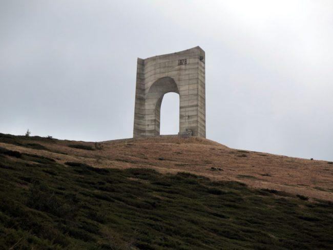Arco que simboliza la liberación de Bulgaria del dominio otomano