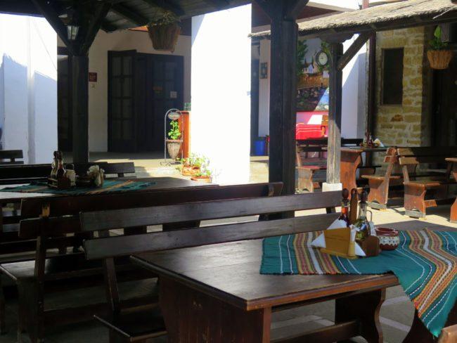 Comer en el Monasterio de Dryanovo