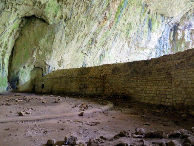 Descripción de la Cueva Devetashka