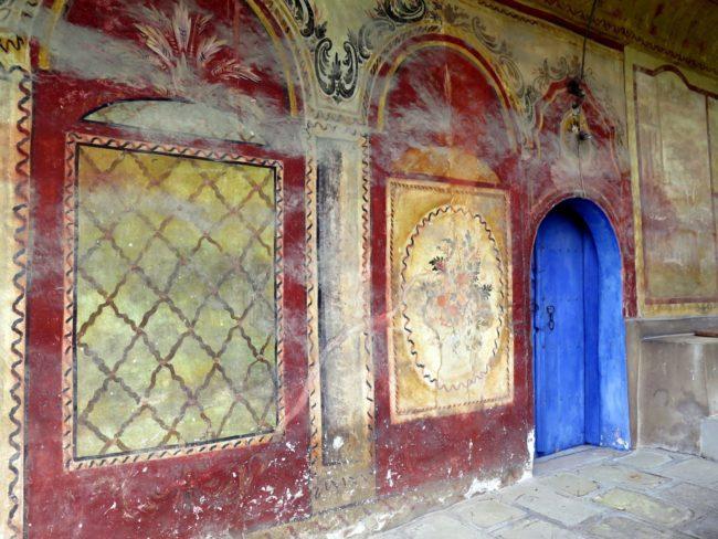 Murales del Monasterio Preobrazhenski