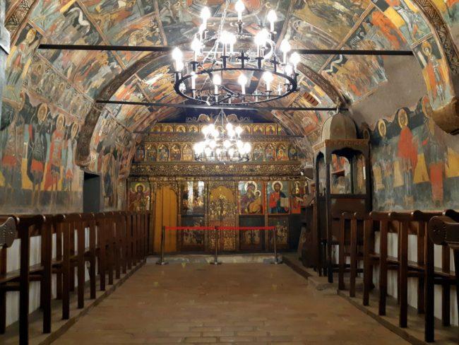 Arquitectura de la Iglesia de la Natividad en Arbanasi