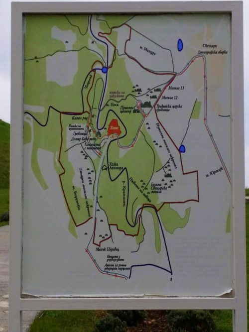 Lugares de la Reserva histórico-аrqueológicа de Sboryanovo