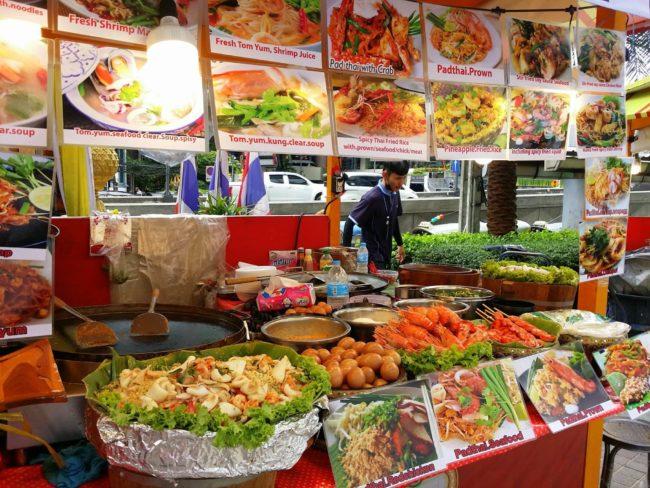 Comida Callejera Bangkok