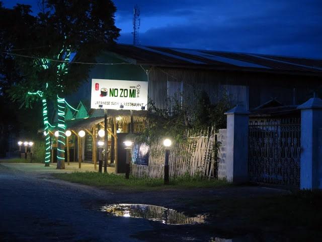 Restaurantes del Lago Inle