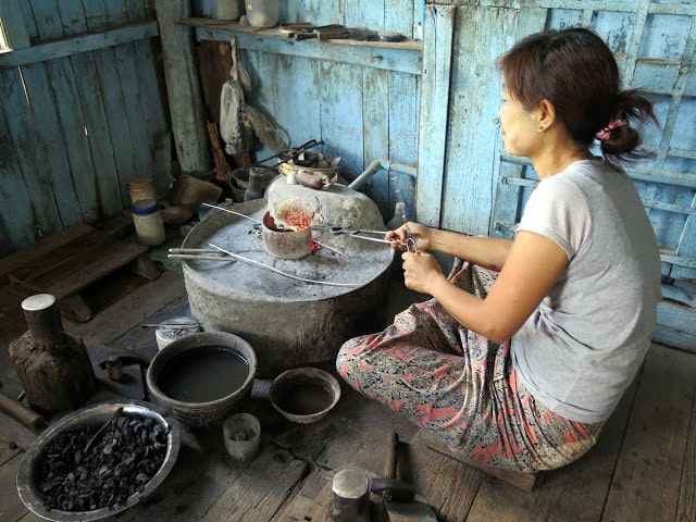 Cosmética natural de Birmania