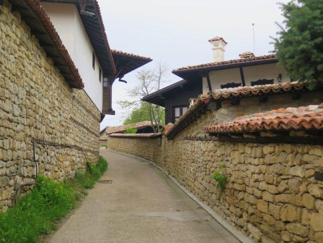 Típicas construcciones fortificadas de Arbanasi