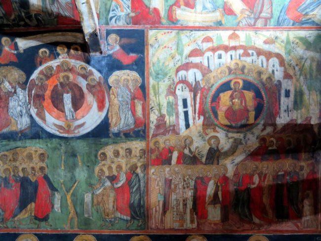 Los bellos murales de Arbanasi