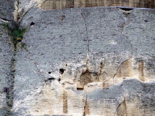 Relieve rocoso único en Europa