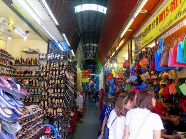 De compras en Bangkok