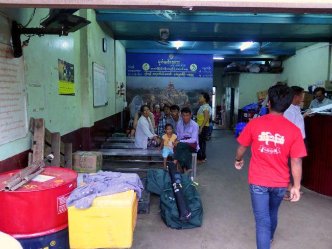 Cómo moverse en Myanmar